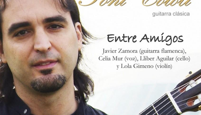 Europa Press. El guitarrista valenciano Toni Cotolí une música clásica y flamenco en su nuevo disco 'Entre Amigos' – 27/11/2007