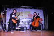 Dúo Gloria Aleza (cello) – Toni Cotolí