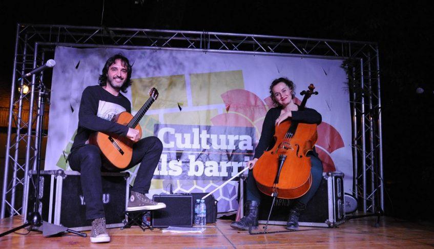 Concierto de Cello y Guitarra Festival ´Cultura Als Barris´ 2018