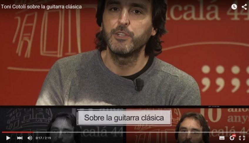 NCI Noticias – sobre la guitarra clásica – 22/10/2015