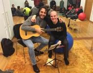 """Toni Cotolí: """"Los músicos deberíamos tener reconocidas las patologías laborales"""""""