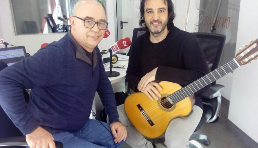 CV Radio: El prestigioso guitarrista Toni Cotolí presenta su espectáculo 'Empieza el llanto de la guitarra'