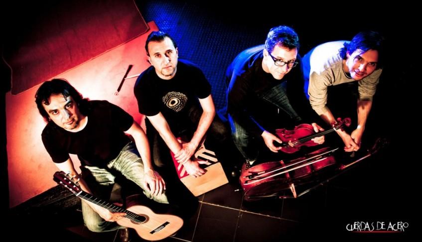 El Grupo Cuerdas de Acero versiona en Torrent a Queen con violín y guitarra clásica