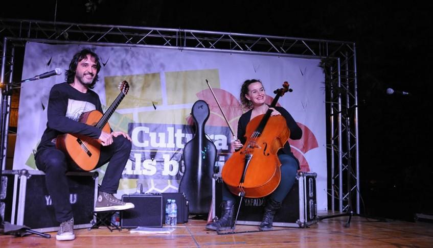 Concierto de Cello y Guitarra en el festival ´Cultura Als Barris 2017´