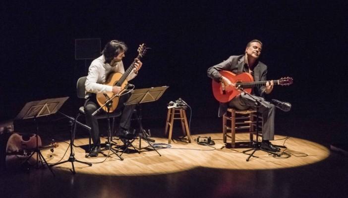 Guitarras del Mediterráneo junto a Irene de la Rosa en el ciclo Concerts a la Casa Capellà Pallarés de Sagunto