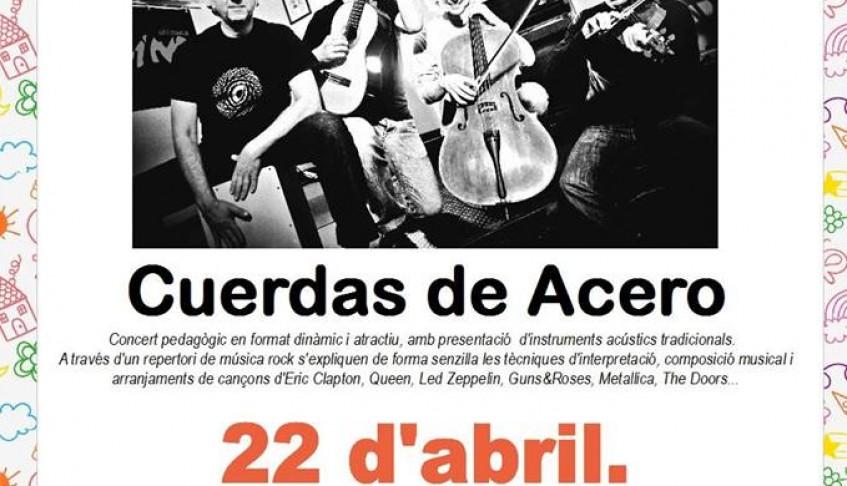 Concierto de Cuerdas de Acero en Puerto de Sagunto