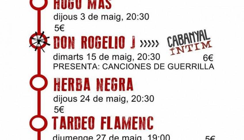 Tardeo flamenc: músiques del Mediterrani – Concierto en MAR D´AMURA del Cabañal