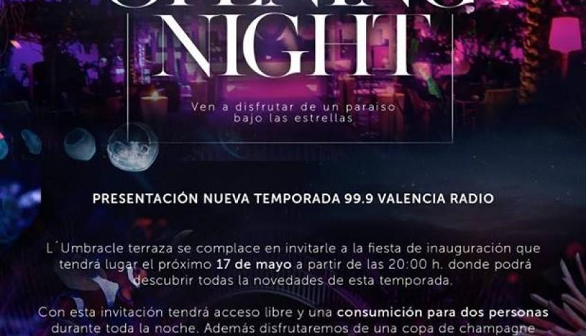 Actuación en discoteca Umbracle dentro del 3er Aniversario de la 99.9 Valencia Radio