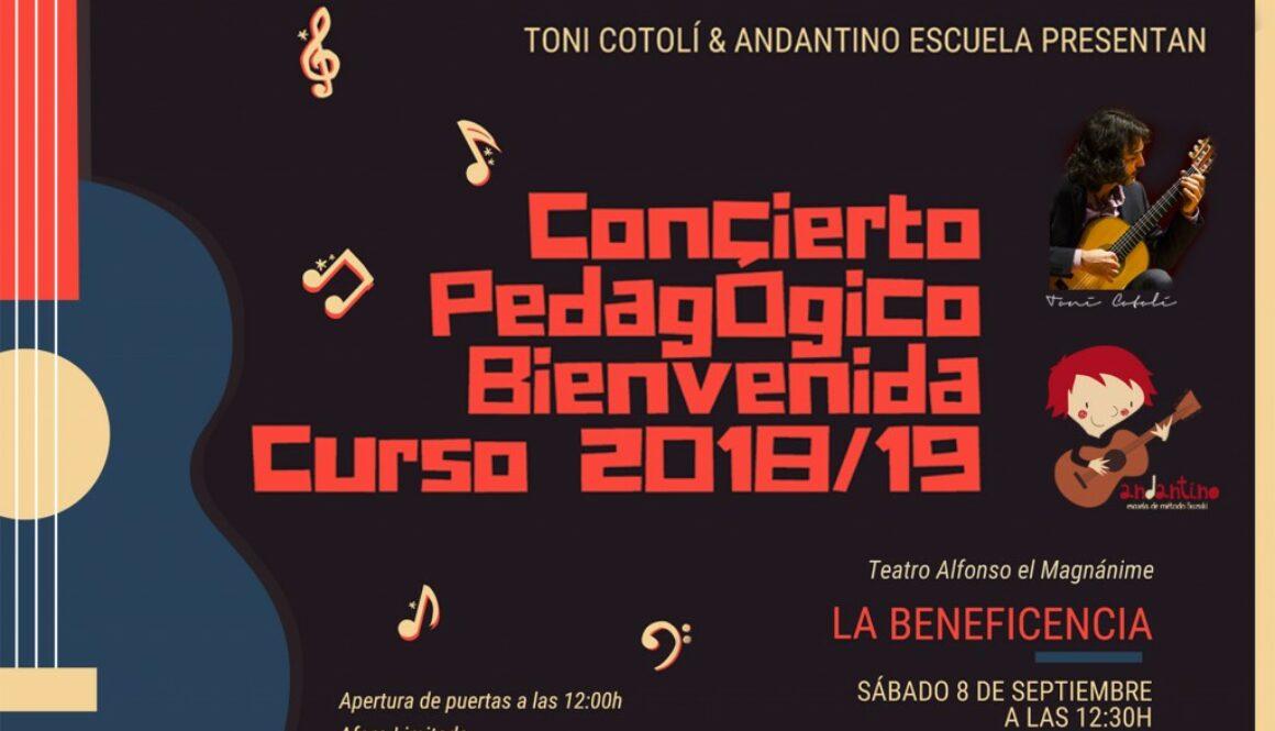 Concierto Pedagógico Bienvenida Curso 2018/19