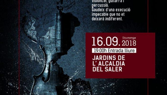 Concierto Cuerdas de Acero en El Saler (Valencia)