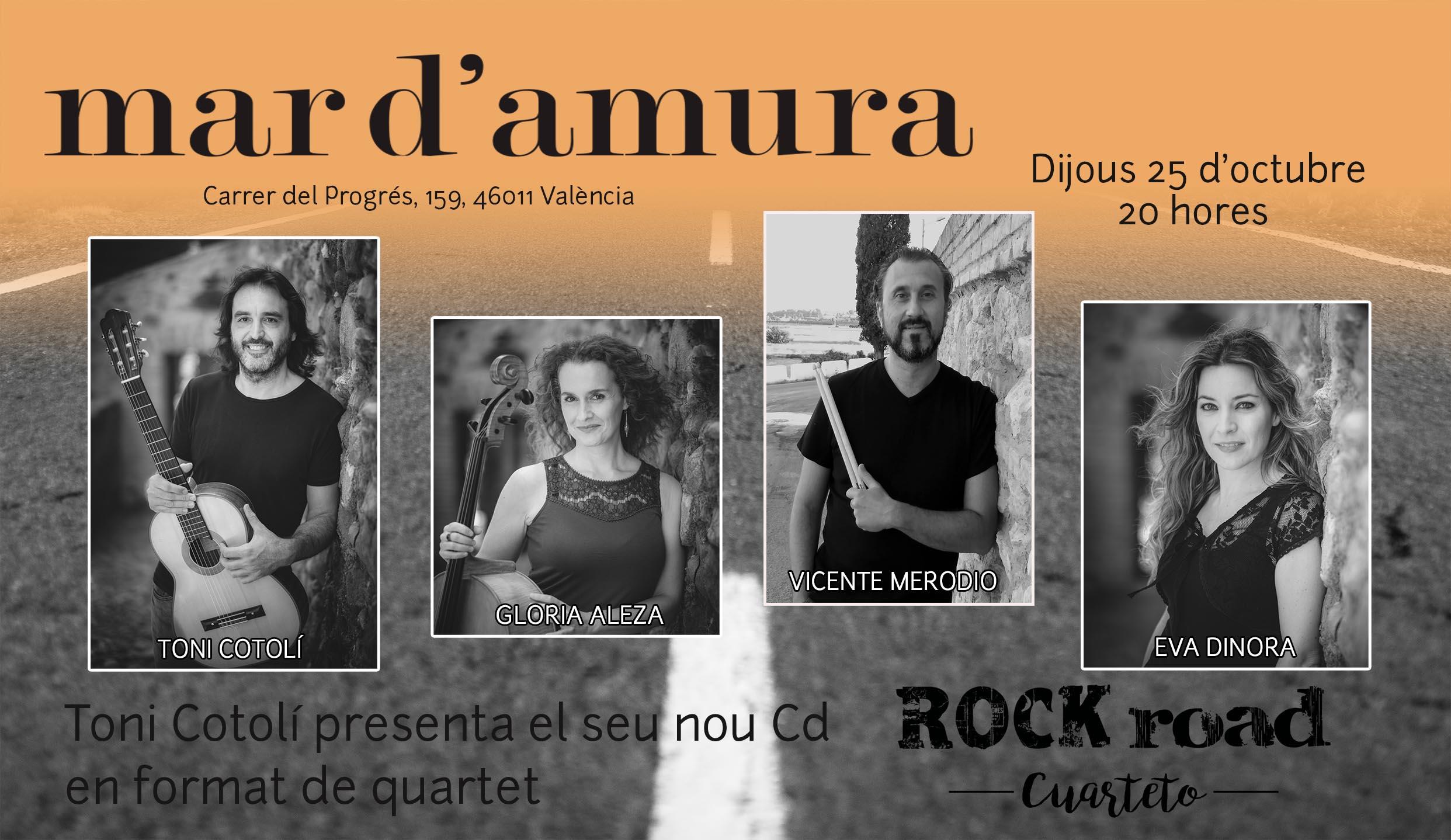 CARTEL MAR D AMURA 25 octubre REDES
