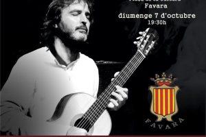 Concert de guitarra a la Casa de la Cultura de Favara