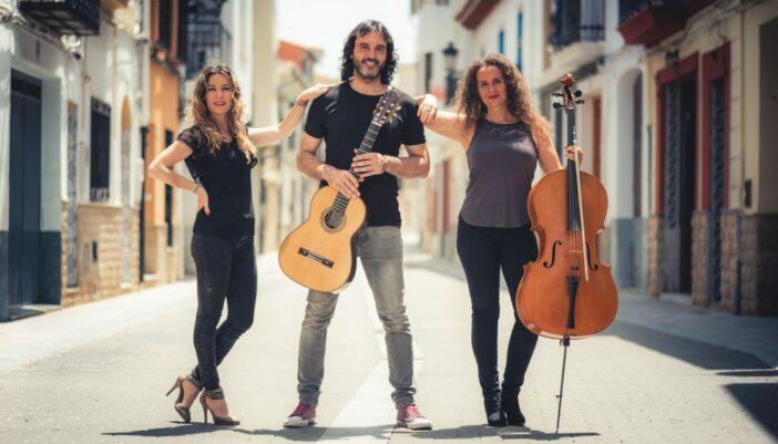 Concierto Rock road trío en FusionArt de Benimaclet