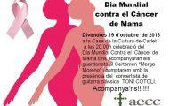 Concert a Carlet pel dia mundial contra el càncer de mama 2018