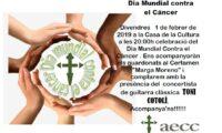 Día Mundial contra el Cáncer en la Casa de la Cultura de Carlet