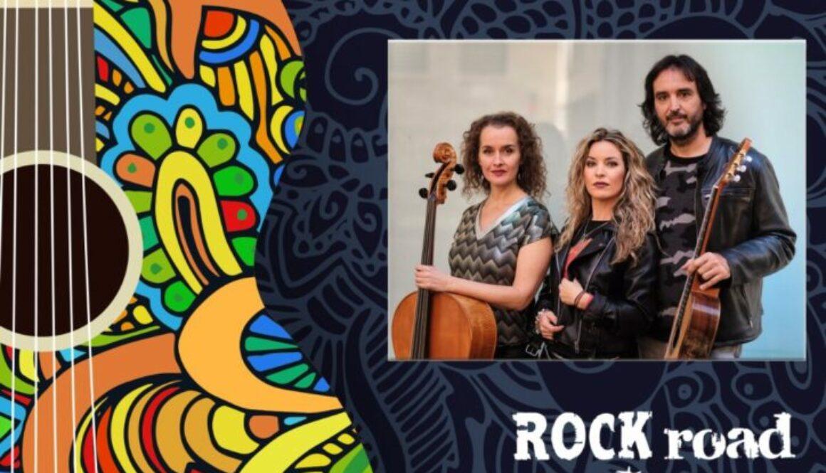 Concierto ROCK road trío en Ameyal