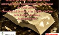 """""""Retalls de Vida"""" fusión de relatos contra el Cáncer"""