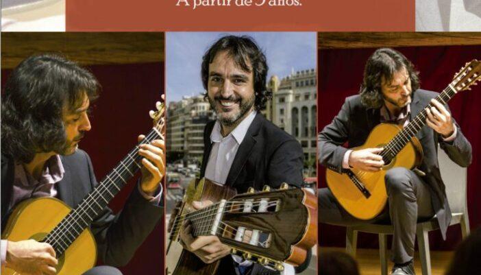Librería Miranfú. Concierto en Familia: La Guitarra