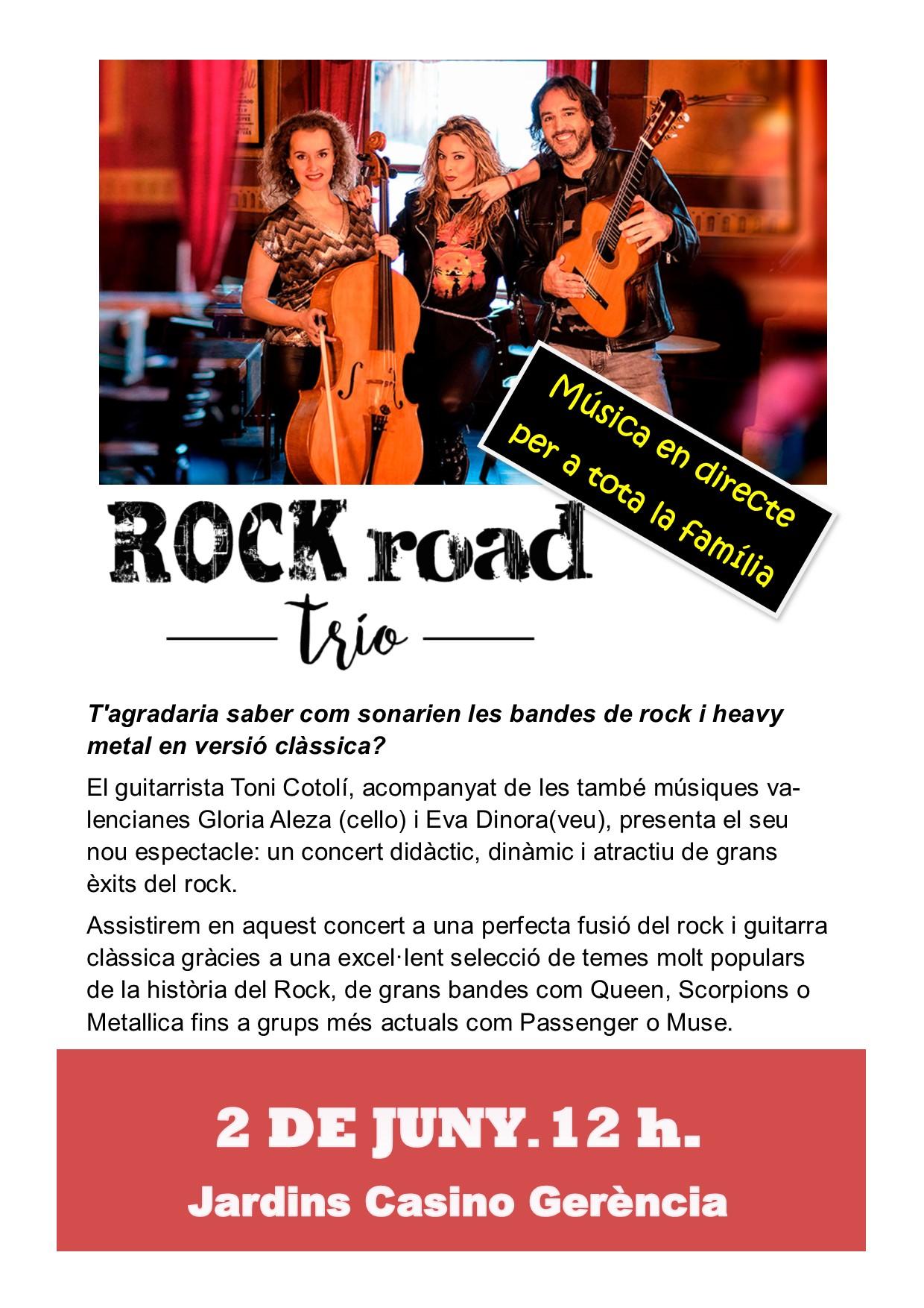 rock road trio whatsapp
